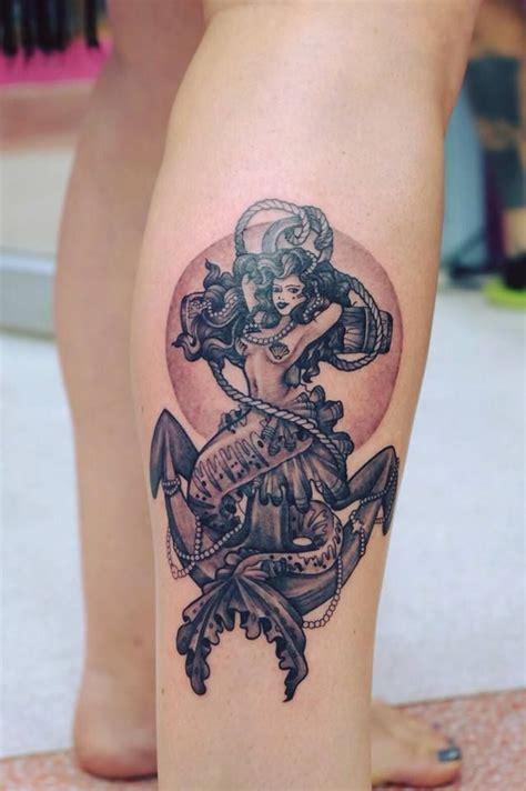 mermaid anchor tattoo best 25 mermaid anchor ideas on half