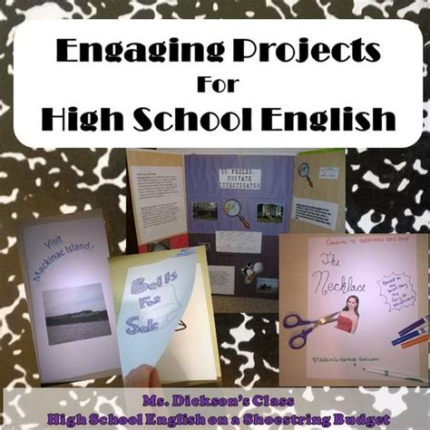 literature themes for middle school engaging projects or project based learning pbl for high