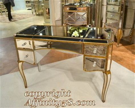 writing desk as vanity bmc collette mirrored ladys writing desk makeup vanity