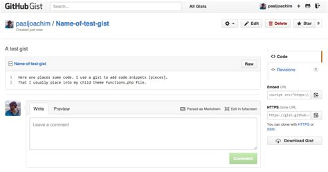 Github Gist Tutorial | embed github gist into wordpress easy web design tutorials