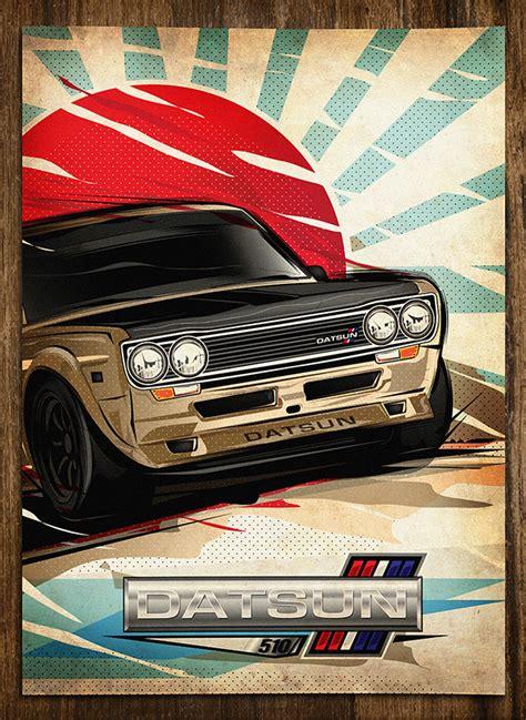 Poster Classic Car 1 japan vintage car poster on behance