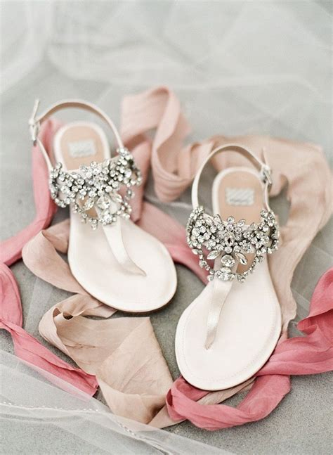 braut sandalen gorgeous jeweled flats bridal shoes perfect for summer