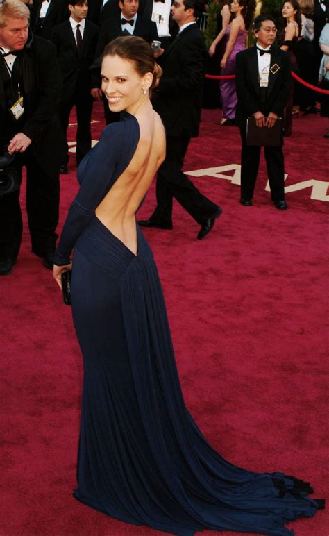 Oscars Carpet Hilary Swank by 15 Most Iconic Carpet Dresses Of All Time