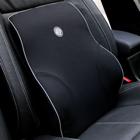 Lumbar Pillows For Car by Car Lumbar Cushion Back Support Memory Foam Auto Ergonomic