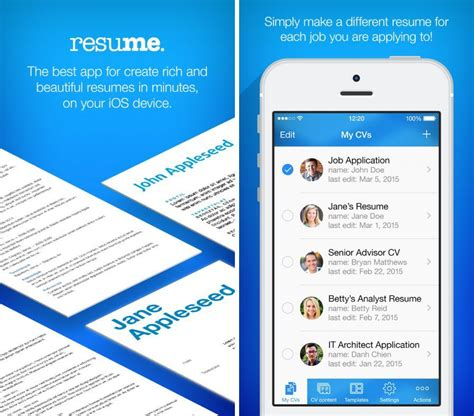 Resume Maker Iphone Bons Plans Iphone Resume Maker Jet Arkanoid Numberama 2