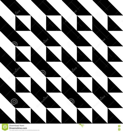black and white triangle pattern black and white triangle pattern stock vector image