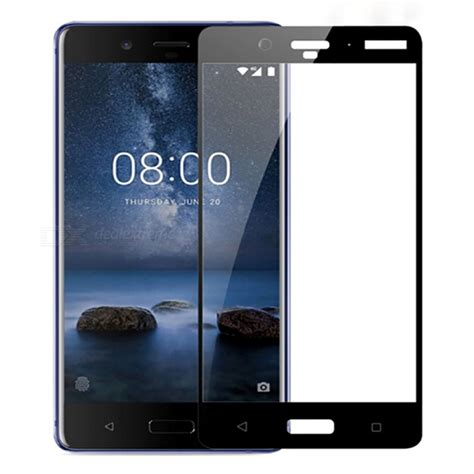 Tempered Glass All Handphone naxtop screen protector tempered glass for nokia 8