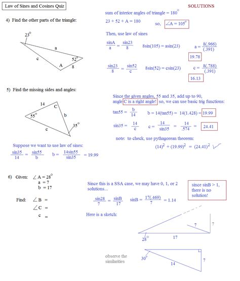 Cos Worksheet With Answers by Worksheet Of Sine And Cosine Worksheet