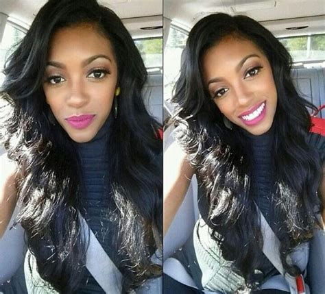 is porsha stewart hair sewn in or a wig 206 best images about beauty porsha williams stewart