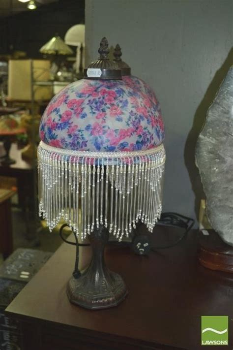 set of 4 beaded shade table ls