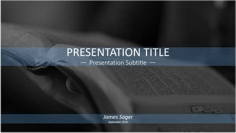 reading the bible powerpoint template free reading the