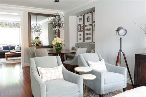 simply home decorating serene family home transitional dining room