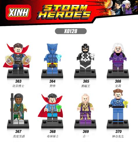 Pogo Minifigure Ant downtheblocks new marvel xinh minifigs featuring dr