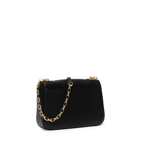 Calf Leather Small Sling Bag michael kors small leather shoulder bag in black lyst