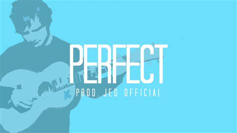 ed sheeran perfect tune ed sheeran perfect instrumental prod jed official