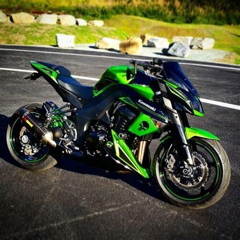 Nhk R1 Aero Style Black Green kawasaki z1000 bikes moto sports my of helmets kawasaki z1000 and