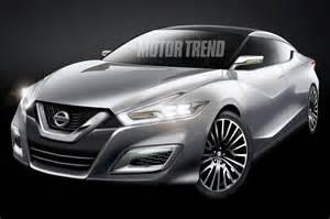 2015 Maxima Nissan 2015 Nissan Maxima Rendering