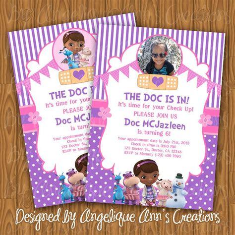 doc mcstuffins invitation template doc mcstuffins invitations diy printable doc mcstuffins