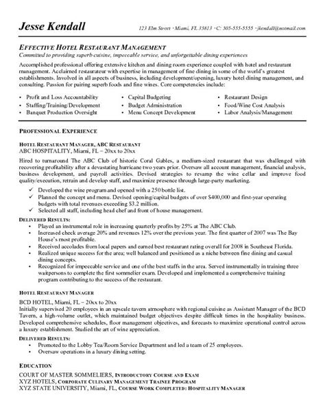 Effective Resume Sles by Effective Sales Resume