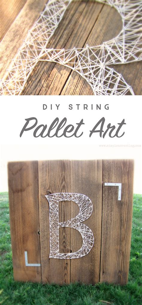 String Easy - 40 insanely creative string projects diy projects