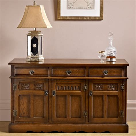 Buffet And Sideboard Tables Oc2145 Sideboard Old Charm Furniture Wood Bros The