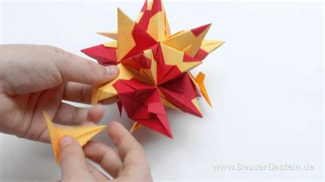 Origami Bascetta - 1000 images about origami sterne on