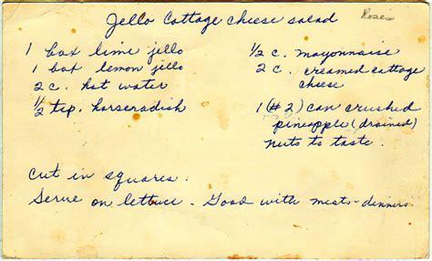 molded salads yesterdish page 2