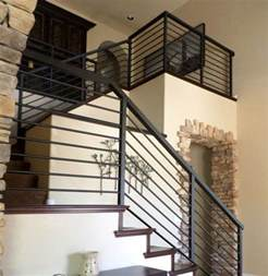 black handrails for stairs 25 best ideas about iron stair railing on