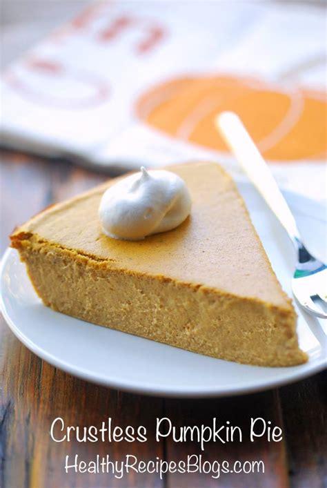 crustless pumpkin pie recipe pumpkin pies sugar free