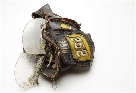 Helm Wtc september 11 found artifacts at the 9 11 museum
