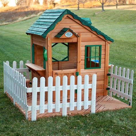 Swing Town Ma9200 Mayfield Cottage Playhouse Outdoor Cottage Playhouse