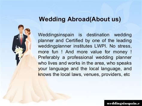 Best Places to Get Married Abroad   weddingsinspain