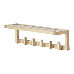 Molger Wall Shelf by Molger Wall Shelf With 6 Hooks Sale Prices Deals
