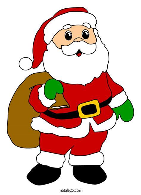 clipart natalizie immagine di babbo natale con sacco natale25