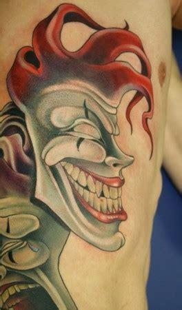 joker tattoo laugh now cry later paradise tattoo gathering tattoos teresa sharpe