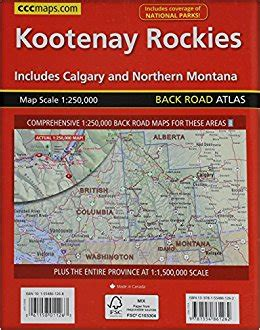atlantic canada back road atlas books kootenay rockies back road atlas canadian cartographics