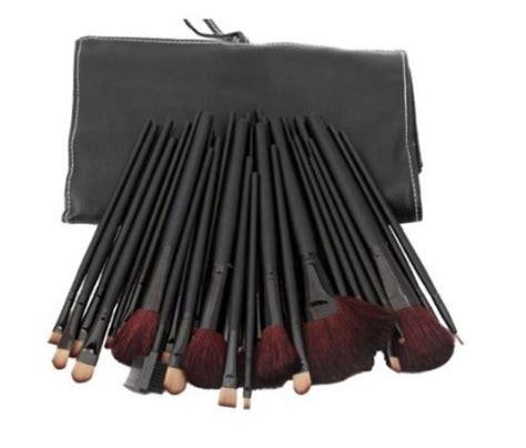 Bourjois Bon Baisers De Lip Stain Pen by 32 Pcs Black Rod Makeup Brush Cosmetic Set Kit With