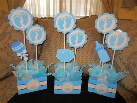 centros de mesa baby shower by mis creaciones babies and babyshower
