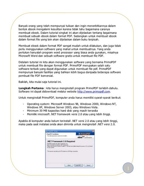 membuat ebook berformat pdf dengan mudah menggunakan membuat ebook mudah dan gratis
