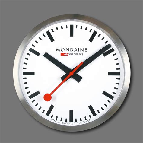wall clock this extra large wall clock the mondaine is certainly