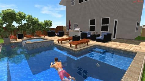 My pool design modern pool san diego