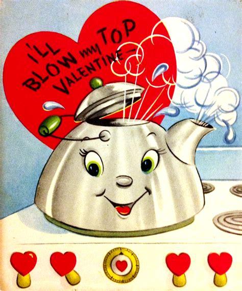 china doll valentines day vintage tea kettle vintage valentines iii