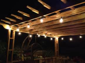 Lights For Patio Battery Operated Patio String Lights Interior Design Ideas