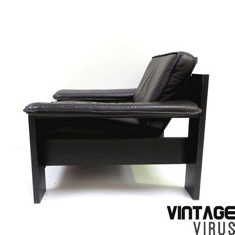 leren fauteuil leolux strakke vintage fauteuil van leer van leolux gemaakt in de