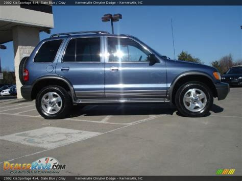 Kia Sportage 2002 2002 Kia Sportage 4x4 Slate Blue Gray Photo 2