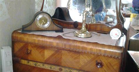 1930 s art deco waterfall bedroom furniture 6 pieces antique vintage waterfall art deco bedroom set 1920 s