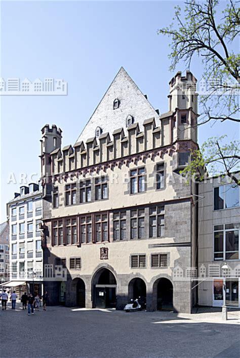 Steinernes Haus Frankfurt Am Architektur Bildarchiv
