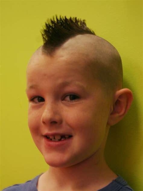 kids mohawk styles boy with mohawk haircut mohawk boys pinterest