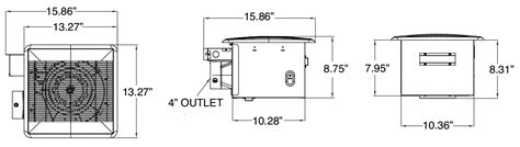 sizing a bathroom fan canarm bpt18 34a 1 bathroom exhaust fan
