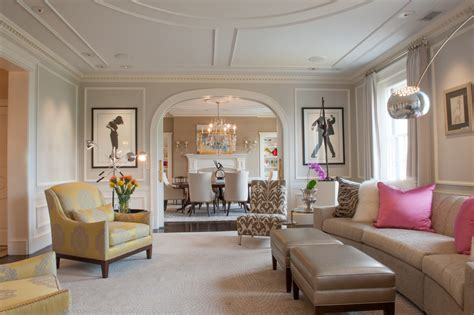 arch living room houzz 52 dining room arch design how to create an arched